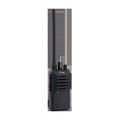 Radio portátil analógico, 5W de potencia, 16 canales, rango de frecuencia 136-174 MHz