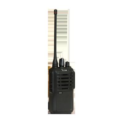 Radio portátil analógico, 4W de potencia, 16 canales, rango de frecuencia 450-512 MHz,