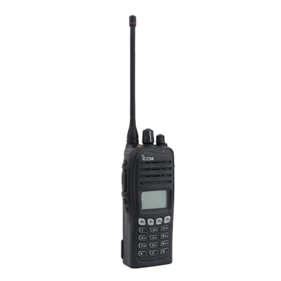 Radio Portátil Digital NXDN, 5 W, 400-470MHz, 512 canales, version intrinsecamente seguro IS, con teclado DTMF, analógico, digital, mezclado, convencional, trunking y multitrunk