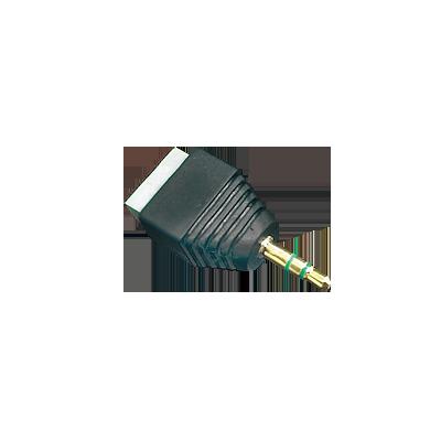 Adaptador para audio y video de 35 mm con terminal atornillable