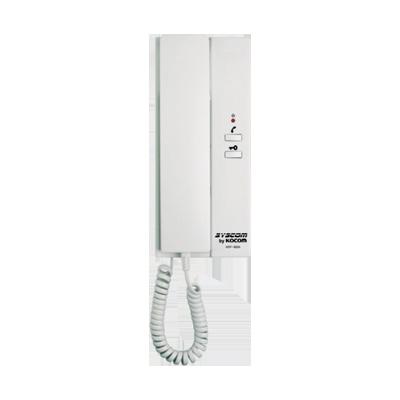 Telefono de puerta de Syscom