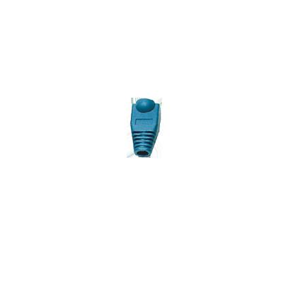Capa plástica para conector RJ45 - azul