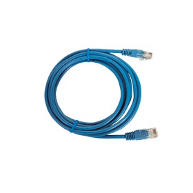 Cable de parcheo UTP Cat5e - 3 m - azul