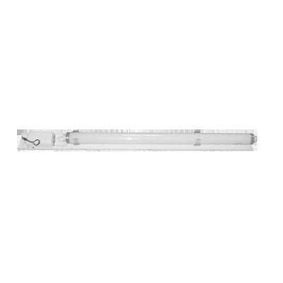 Lámpara con balastra electrónica. Alta eficiencia y durabilidad.