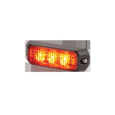 Luz auxiliar de 3 LEDs, 12 Vcd, 0.7 A, color ámbar