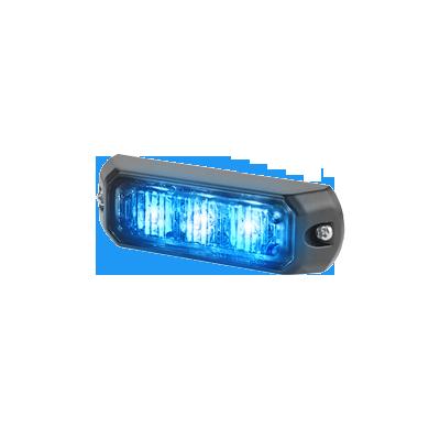 Luz auxiliar de 3 LEDs, 12 Vcd, 0.7 A, color azul