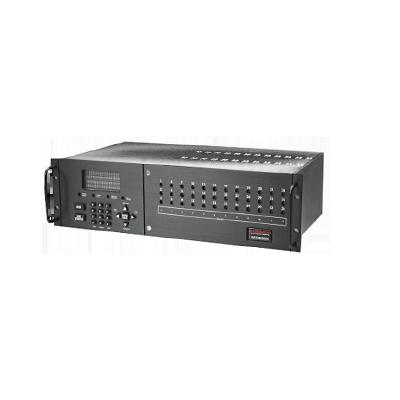 Central receptora de alarmas con una tarjeta de tres  línea telefónica