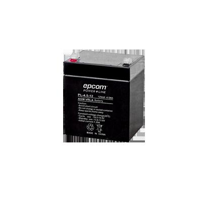 Batería con Tecnología AGM-VRLA, 4.5 Ah