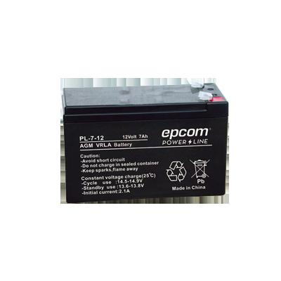 Batería con Tecnología AGM-VRLA, 7 Ah. (reemplazo de WP712P)