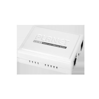 Inyector PoE 802.3af de 1 Puerto Gigabit 10-100-1000 Mbps