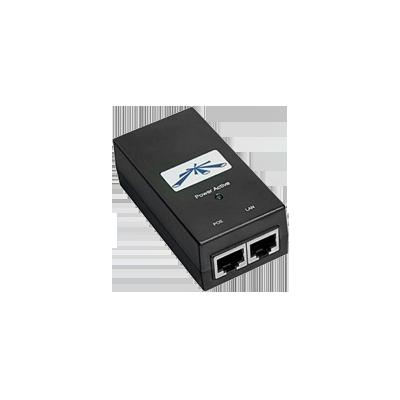 Alimentador PoE 50 Vcd, 1.2A para equipos Ubiquiti Airfiber