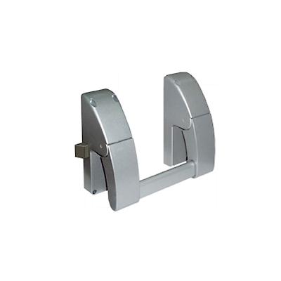 Barra de salida con cerrojo para puertas izquierdas o derechas