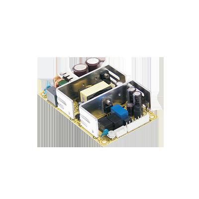Fuente de poder 12V, 4.75A, industrial conmutada sin gabinete, con circuito cargador de baterías