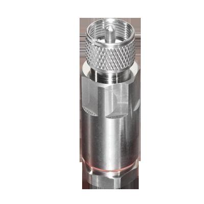 Conector UHF macho (RF Industries) para cable LDF4-50A