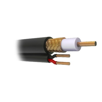 Cable siames coaxial RG59.