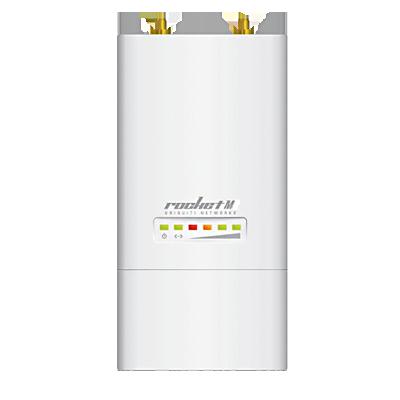 Rocket M9 AirMax de Alta Capacidad y Alcance, Modulación Propietaria (902 - 928 MHz) conectorizado.