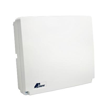 Panel de alarma Hibrido de 8 a 16 zonas soporta zonas inalambricas, funciones de control de acceso incluye teclado de leds y dos detector de movimiento digitales