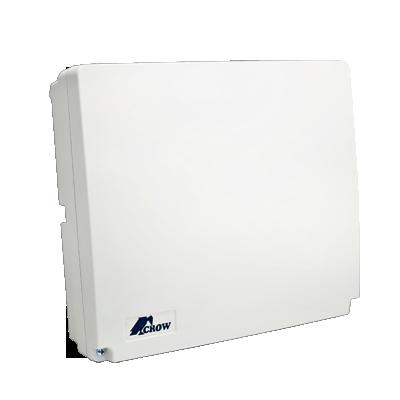 Panel de alarma Hibrido de 8 a 16 zonas soporta zonas inalambricas, funciones de control de acceso incluye teclado de leds y dos detector de movimiento digitales NEOQUAD.