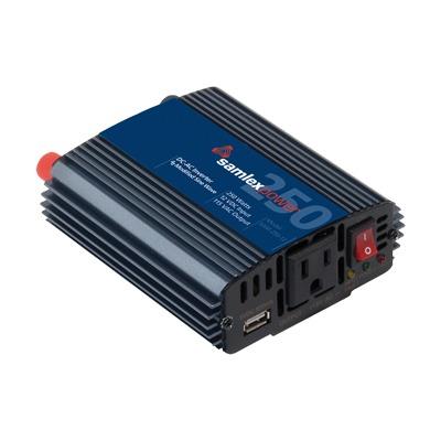 Inversor de Corriente (CD-CA) Potencia Nominal 250 W, Ent:12Vcd, Sal: 115Vca 60 Hz