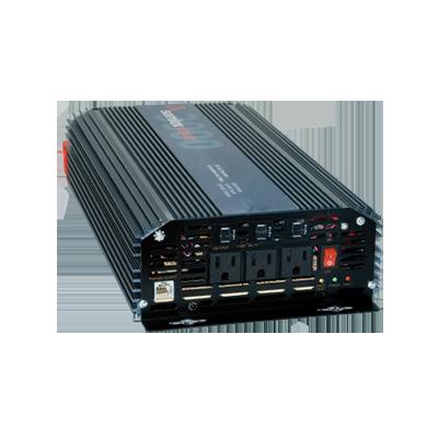 Inversor de corriente (CD-CA) potencia nominal 3000 W, Ent:12Vcd, Sal:115Vca