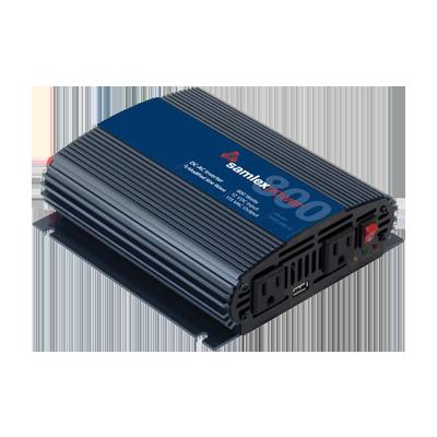 Inversor de corriente (CD-CA) potencia nominal 800 W, Ent:12V, Sal:115Vca