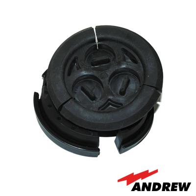 Bota pasamuros con 1 a 3 orificios para cable de 7-8. Pasamuro 4