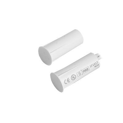 Contacto magnético para puertas y ventanas  aluminio y madera de empotrar color white