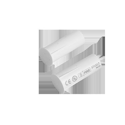 Contacto magnético UL CE para puertas y ventanas  aluminio y madera de empotrar color white