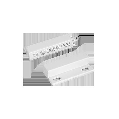 Contacto magnético UL CE, con adhesiva  para puertas y ventanas. Ultra pequeño con 30cm de cable