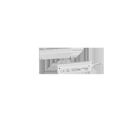 Contacto magnético UL CE para puertas y ventanas con cable de 45 cm color blanco