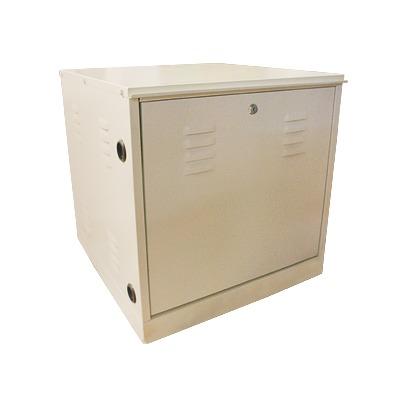 Gabinete de Piso de uso rudo con Rack estándar de 19, 11 unidades