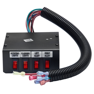 Conjunto de 4 Interruptores para Barra de Luces