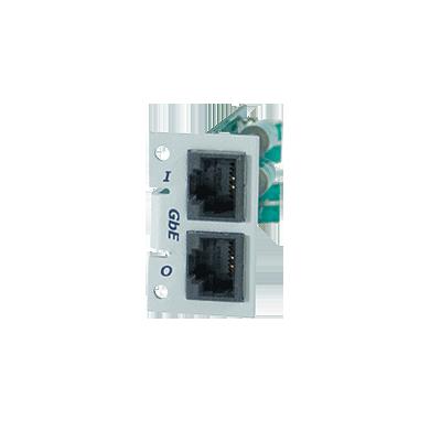 Modulo Individual Giga Ethernet 1000 Mbps para Protector TCPEX8P