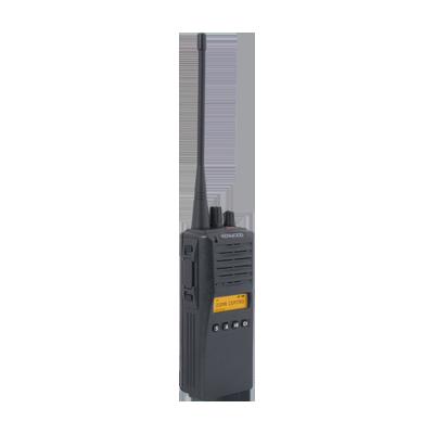 Radio analógico, 2.5 W, 800 MHz, 250 canales, con cargador lento KSC19