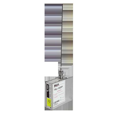 Radio PIMA compatible con SAT8, SAT y Panel serie HUNTER de PIMA.  Frecuencia de operación 435 a 470 MHz a 2.5 Watts.