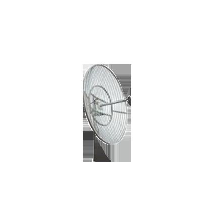 Antena Parabólica de rejilla para Celular de 1850-1990 MHz, 26 dBi.