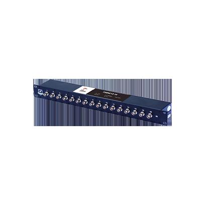 Protector de video para cámaras análogas de 16 puertos