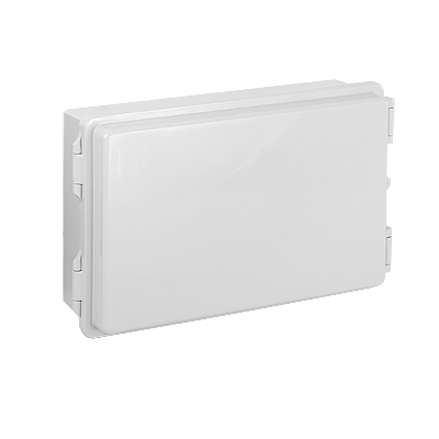 Gabinetes NEMA, cuerpo gris, cubierta gris para interior y exterior (290 x 190 x 100 mm.) requiere panel TX-1929-P-L