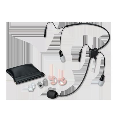Diadema HURRICANE II para Motorola EP350-450-450S, MAGONE, MOTOTRBO: DEP450,XPR3000,CP200D. Hytera TC500-600