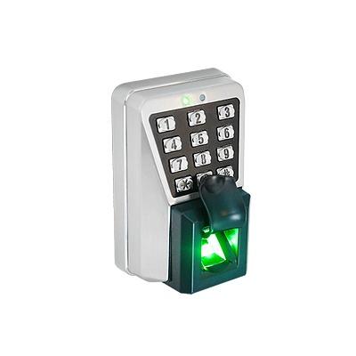 (ZK MA500)Lector IP de Huella y Proximidad con Teclado Antivandálico para Exterior / Administración con software o de manera autónoma (directo en el teclado) / Relevador para chapa