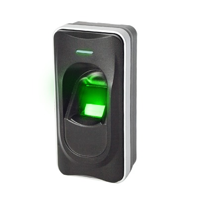Lector esclavo / Huella Digital / Lector de Tarjetas de Proximidad / RS-485 / Interior y Exterior / Requiere Panel de Control de Acceso AccessPRO, ZKTeco o Biometrico Standalone