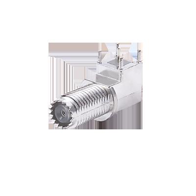 Conector Mini UHF Hembra. Para Chasis.
