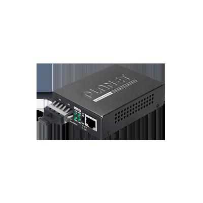 Convertidor de medios 1000 Mbps UTP-fibra óptica hasta 550 m
