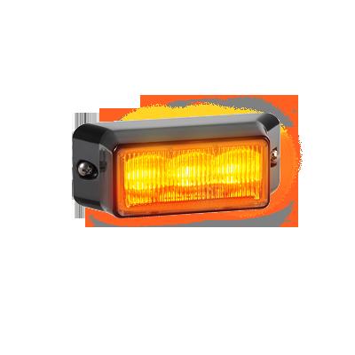 Luz auxiliar IMPAXX de 3 LEDs, color ámbar