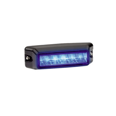 Luz auxiliar de 6 LEDs, color azul