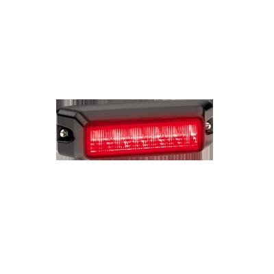 Luz auxiliar de 6 LEDs, Color Rojo