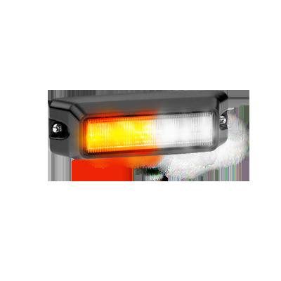 Luz auxiliar de 6 LED ?s en color ámbar - claro con mica transparente.