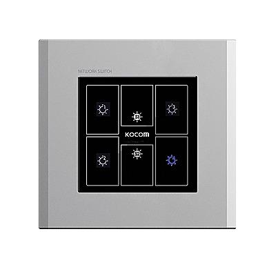 Control de Iluminación Para 4 Apagadores, Compatible con TVPortero KVRA510