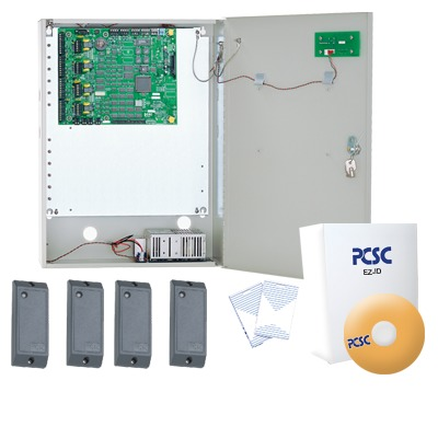 Sistema Completo con 4 Lectoras, Panel IQ400 y Software NXG