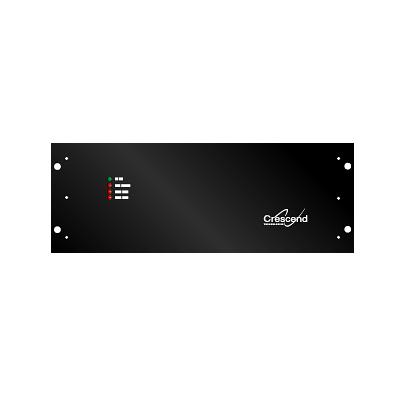 Amplificador de Ciclo Continuo, 764-870 MHz, Entrada 200-500mW - Salida 80 W, Trunking o Convencional, Montaje de Rack 19in, 24 A.